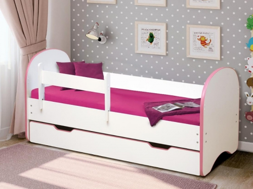 Кровать детская Радуга с 1 ящиком