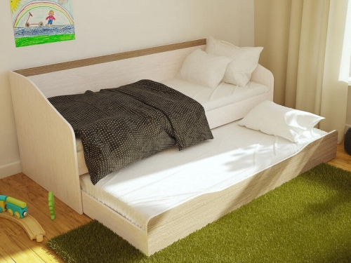 Кровать выдвижная двухуровневая Паскаль