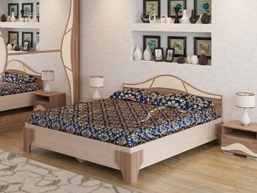 Кровать двуспальная Лагуна-5