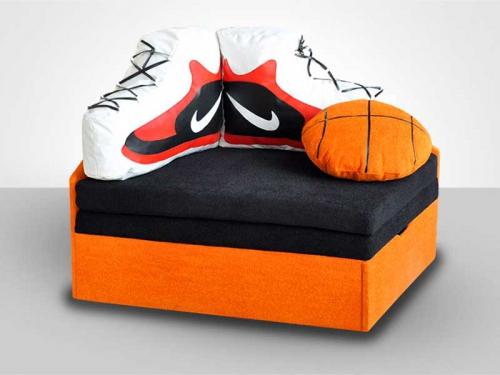 Детский диван Физрук баскетбол