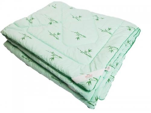 Одеяло стеганое на бамбуковом волокне легкое