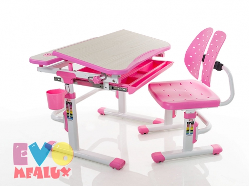 Парта и стульчик Mealux EVO-05
