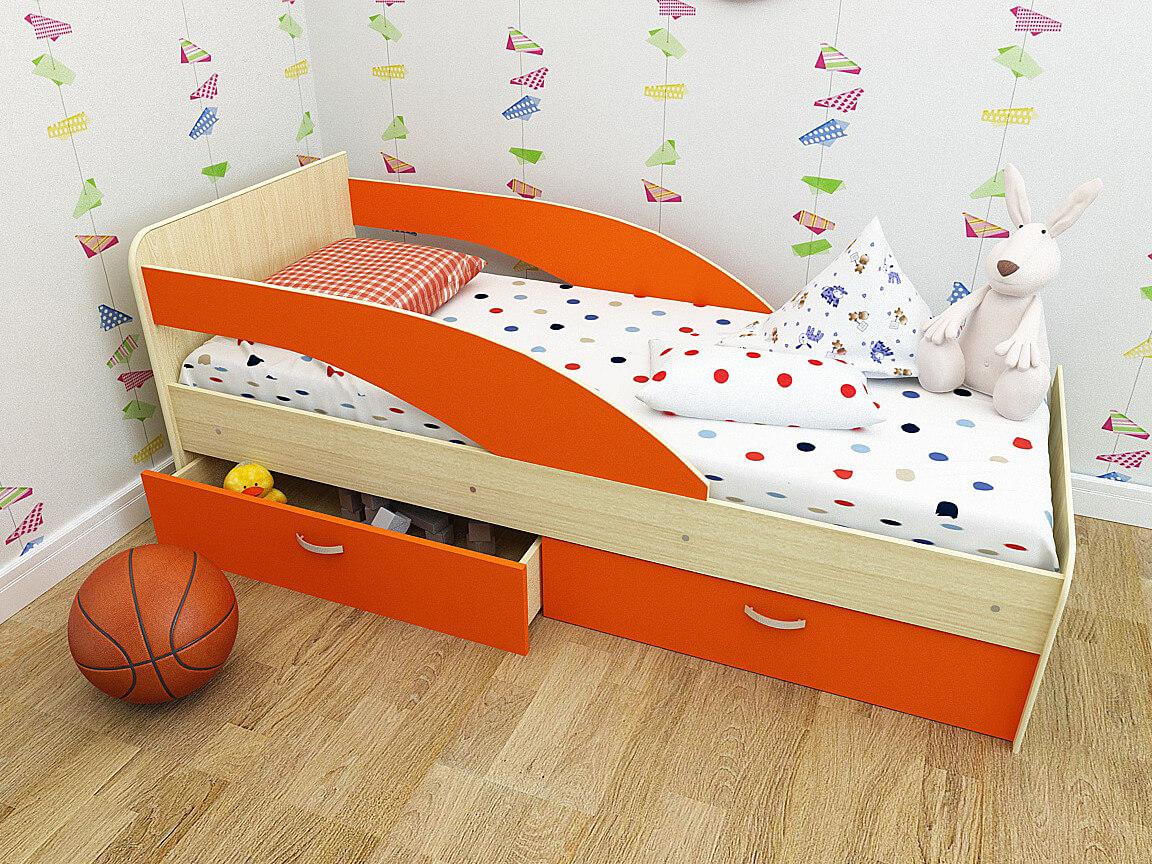 Какая нужна кровать для ребенка 2 лет