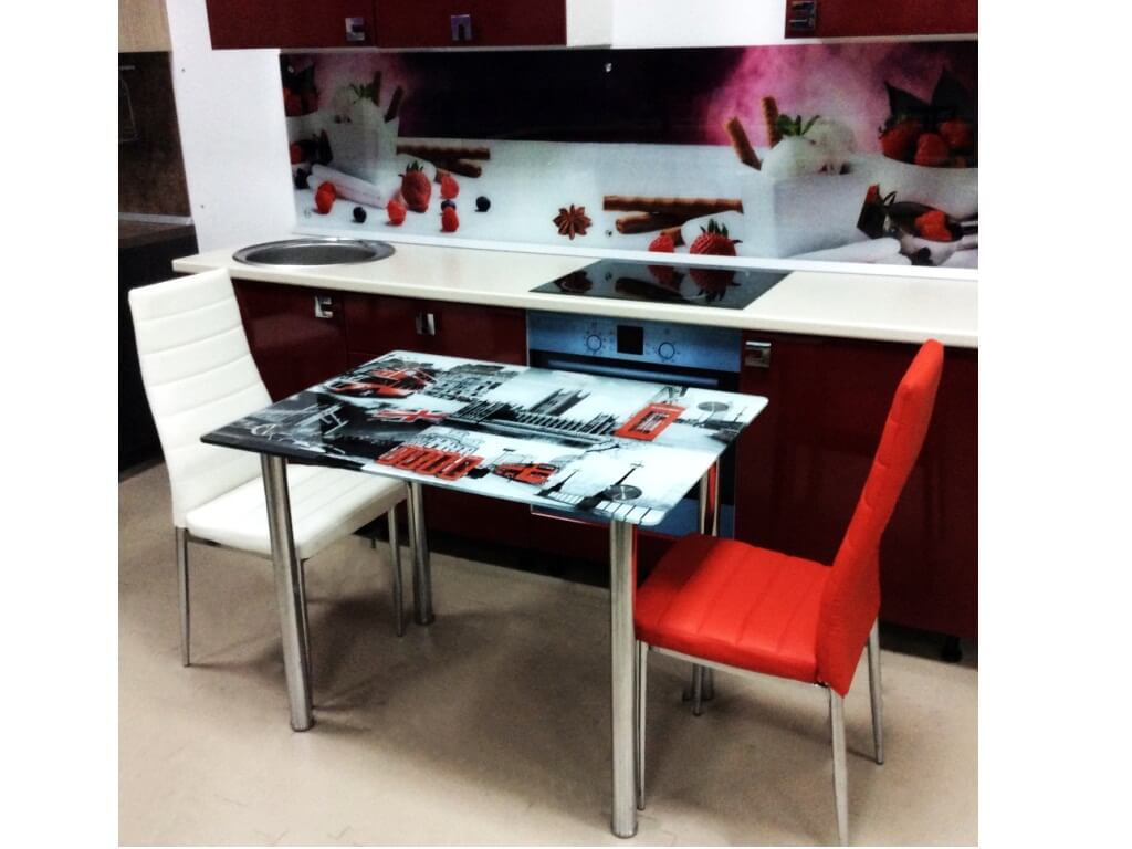 Стеклянные столы в барнауле купить